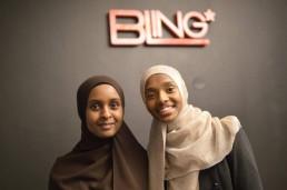 Deqa Abukar och Amal Said